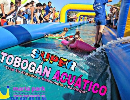 Tobogán Gigante – Resbaladera Acuática 50m