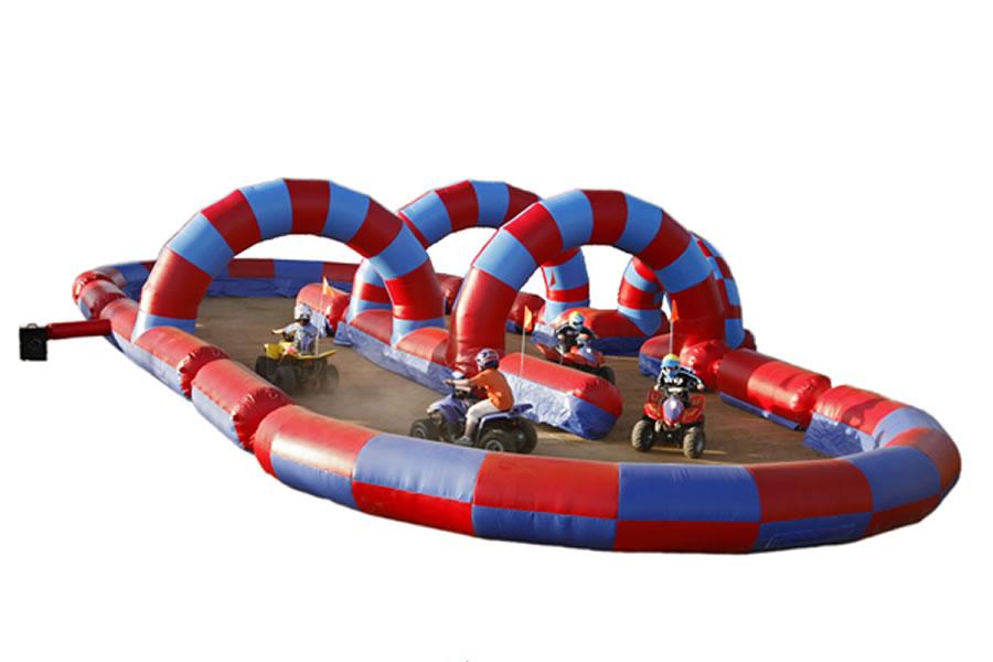 Circuito hinchable de quad atracciones MARIAPARK