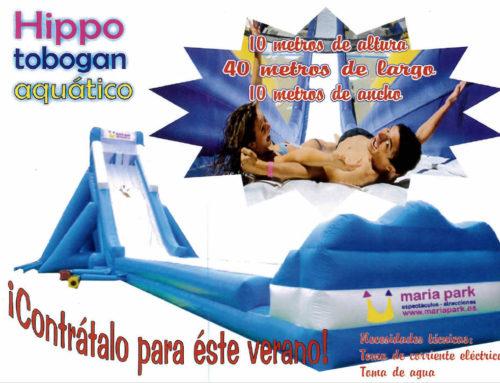 Hippo Tobogán Acuático