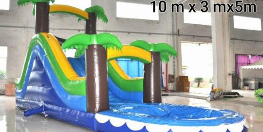 Alquiler Tobogán Caribe mas piscina - Atracciones Mariapark