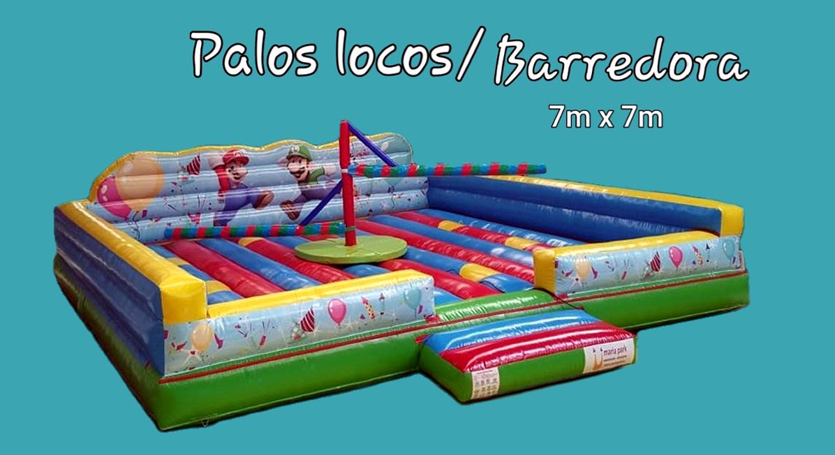 BARREDORA - PALOS LOCOS