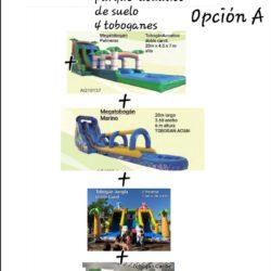 OPCION A 4 TOBOGANES