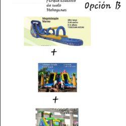 OPCION C 3 TOBOGANES MARINO 1 CARRIL