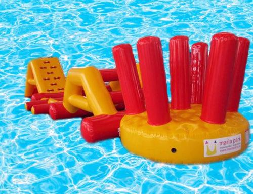Pistas de obstáculos acuáticas