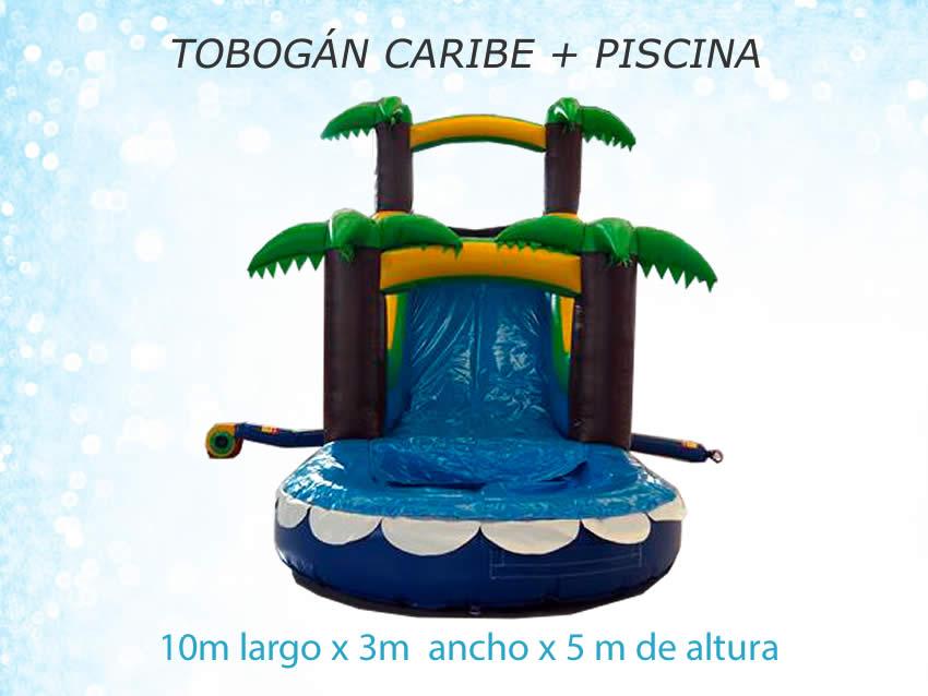 TOBOGÁN CARIBE CON PISCINA - ATRACCIONES MARIAPARK