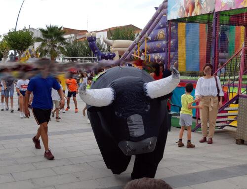 Encierro de toros infantiles