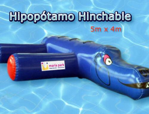 Hipopótamo Hinchable