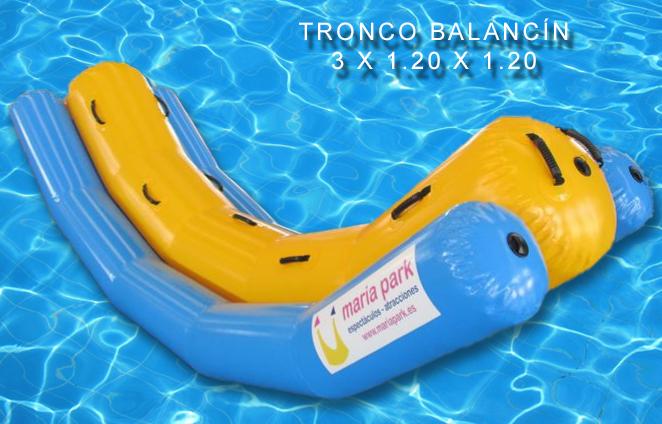 TRONCO--balancin Hinchable mariapark.es